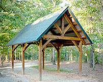 Timber Frame Shelter